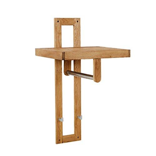 ZWL Appendiabiti 2 ganci corti Semplice colpo creativo di Protezione Ambientale solido legno di quercia Ledge fashion.z