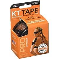 KT Tape Kinesiology Pre-Cut Pro Syn Tape USA.Black