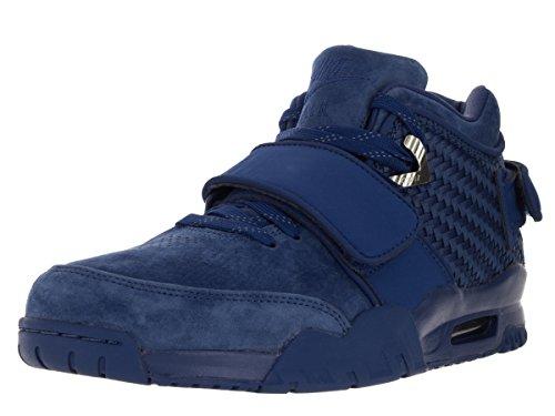 Nike Herren Air TR. V. Cruz PRM Fußballschuhe, blau rot Rush blau Rush blau Turnhalle Rot, 42 EU
