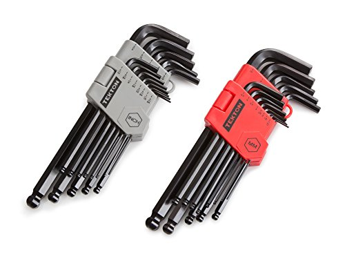 Tekton 25282 26-piece Long Arm Ball Hex Key Wrench Set