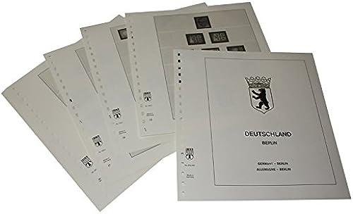 LINDNER Das Original Deutschland Berlin - Vordruckalbum Jahrgang 1980-1990