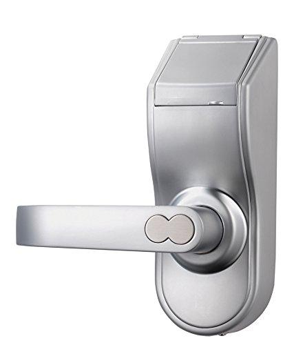 Digi Electronic Biometric Fingerprint + Keypad Door Lock, Chrome 6600-97 (Left Handle Door Lock)