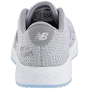 New Balance Women's Fresh Foam Zante Pursuit V1 Running Shoe, Light Aluminum/Steel/Voltage Violet, 10 M US