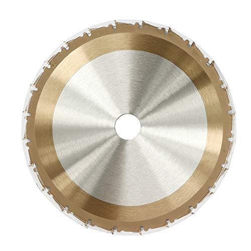 Yongenee Duradero 1pc 210mm 24T TCT Hoja de Sierra de Oro Revestimiento de la Madera Circular VIO la lámina Discos de Corte de carburo de Hoja de Sierra Herramientas industriales
