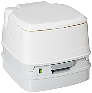 Suited for RVs, trucks and vans, healthcare, camping, an off-the-grid lifestyle and more Durable, compact and easy to use, with ergonomic carrying handle Sealed valve to prevent odors escaping the holding tank Removable seat and cover for easy cleani...