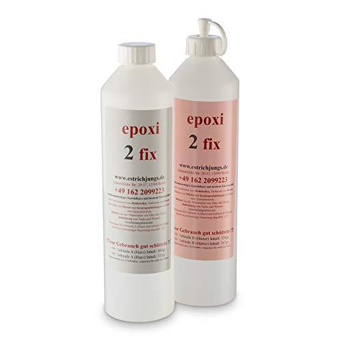 epoxi 2 fix, Epoxidharz, Rissharz, Giessharz, Vergussmasse, Laminierharz, Epoxidkleber 500g