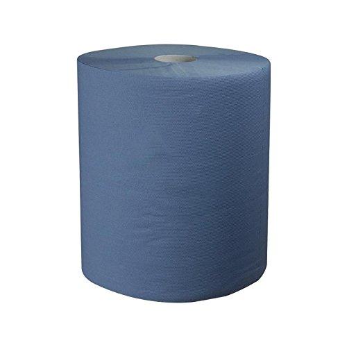 Carsystem Car Clean Double Blue papieren poetsdoek 1000 afscheuren 36x36 cm