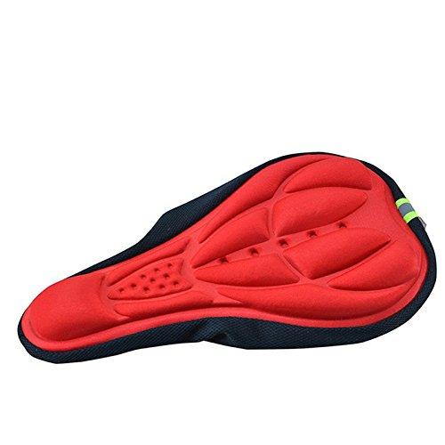 Badana Cubre Sillin Gel Culotte Antibacterial Antiparasitaria Ciclismo Color Rojo 4102rojo