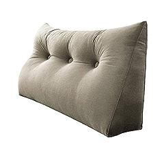 Dos Ergonomique Soutien Lombaire Oreiller Sofa Triangular Retour Bed Back Support Lombaire du Dossier Oreillers,Beige,45x50x25cm BCLGCF Wedge Pillow Lecture Amortisseurs R/églable Throw