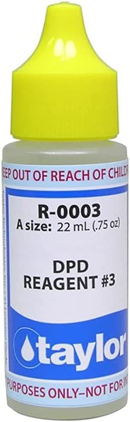 Genuine Taylor Reagent #3 .75 oz Special price for a limited time Pack of 2 R-0003-A