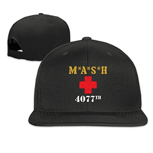AEMAPE MASH Red Cross 4077th Freizeit Fashion Classic Flat Baseball Cap