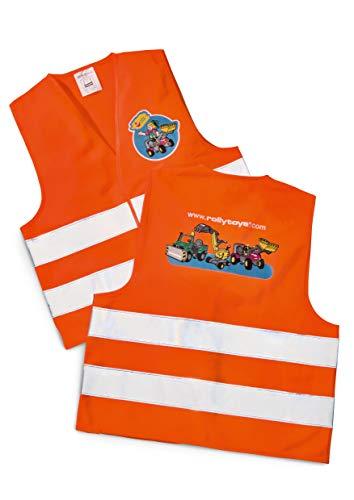 rolly toys | rollySafety vest | Warnweste für Kinder | Orange | 558698