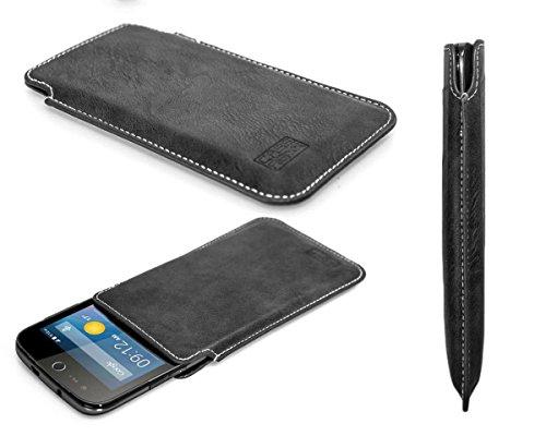 caseroxx Business-Line Etui für Acer Liquid Z330, Tasche (Business-Line Etui in schwarz)