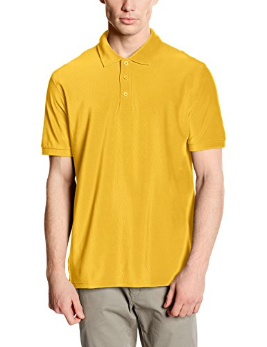 Fruit of the Loom SS035M, Polo Uomo, Giallo (Sunflower Yellow), XX-Large