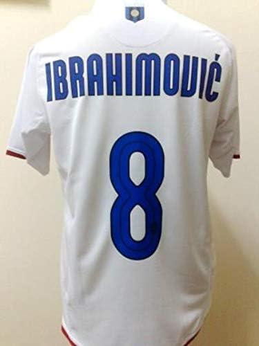 Brook Ibrahimovic#8 Inter Milan Away Retro Soccer Jersey 2007-2008 ...
