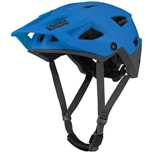 IXS Trigger AM Mountainbike Helm, Unisex, Neon Blue, ML (58 – 62 cm)