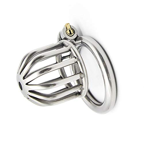 CiaoyueWuu Steel Metal Male Chasti'ty Device Locked Cage S'ex Toy for Men (Size: 40/45/50mm) (Size : 40mm)