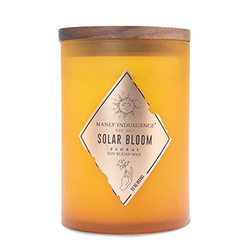 Manly Indulgence Rebel Jar Candle, Large, Orange