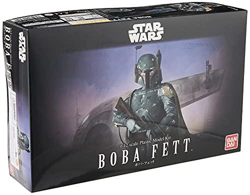 Bandai Hobby Star Wars 1/12 Plastic Model Boba...