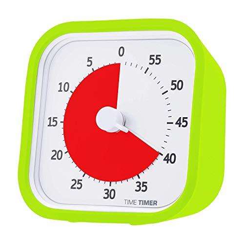 【正規品】TIME TIMER タイムタイマー モッド (カバー付き) 9cm 60分 ライムグリーン TTM9-GR-W 時間管理