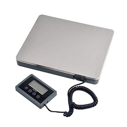 LJP 180 kg / 50 G digitale weegschaal, elektronische pakketweegschaal, multifunctionele pakketverzending post porto roestvrij staal platform weegschaal