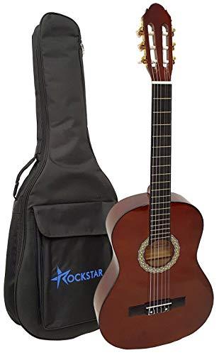 Guitarra clásica española Romanza DIANA MH 4/4 con funda 10mm calidad y precio - rockmusic