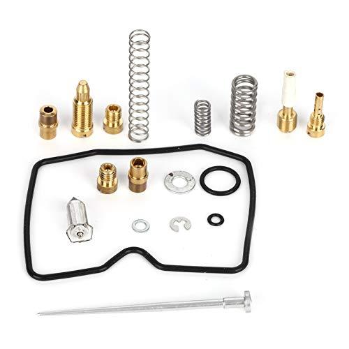Ladieshow Moto Carburatore Carb Rebuild Repair Kit wfybMCMM733 Adatto per Suzuki Eiger LTF400/LTF400F 2003-2007