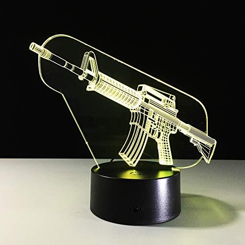 WJHXYD Lámpara 3D Regalo Navidad Lámpara mesa luz