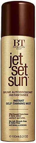 Jet Set Sun Self Tanning Mist Spray Tan Self Tan Self Tanner Face Natural lookiong glow For product image