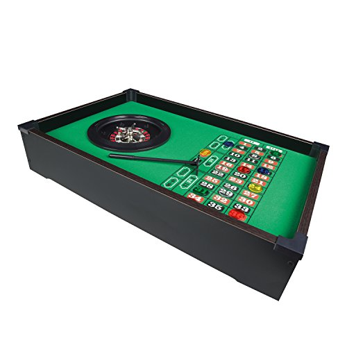 Benross Group - Spielzeug 51 x 31cm Tischplatte Roulette Rad Set