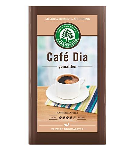 Lebensbaum Café die gemahlenes Kaffeepulver, 6er Pack (6 x 500 g)