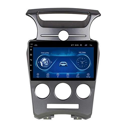 WY-CAR Android 8.1 Navegación De Automóviles Estéreo para KIA Caren 2007-2011, Navegación De Entretenimiento Multimedia De 9 Pulgadas, Control De Volante/Toque Completo/Cámara De Vista Trasera