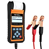 FOXWELL Car Battery Load Tester for 6V 12V 24V Cranking and Charging Start-Stop System Test Tool BT780 Auto Batteries Analyzer with Built-in Thermal Printer
