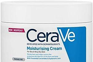 Cerave Vochtinbrengende Crème voor Droge tot Zeer Droge Huid, 340g