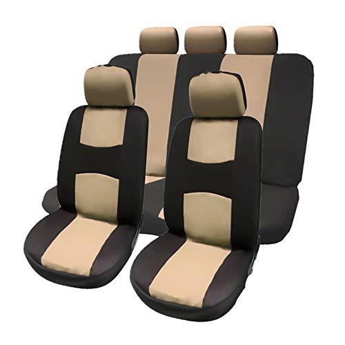 Peanutaso 2016 Ademende voorstoel achter universele autostoelhoes beschermhoes autostoel afdekking auto accessoires