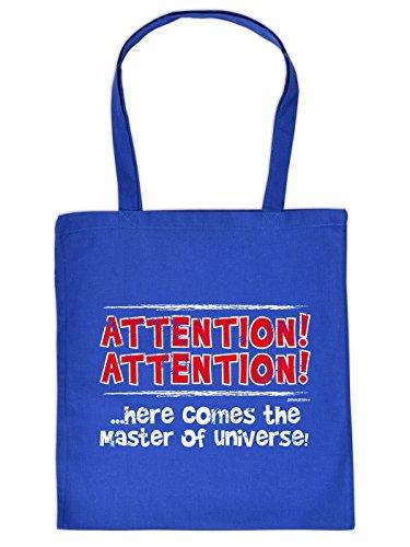 The Master of Universe ! ATTENTION ! ein absoluter Hingucker von Goodman Design ! Baumwolltasche