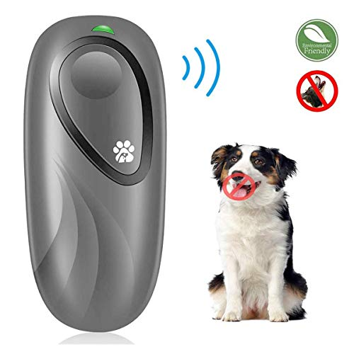 CYWEB Anti-Bellen-Gerät, Ultraschall-Hundebellen Sichere und Schmerzfreie Hunderkontrolle für den Innen- und Außenbereich Anti Bellen Stop Rinde Handheld Hunde Trainingsgerät für Hunde Bellkontrolle