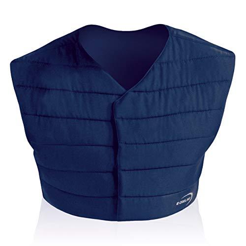 E.COOLINE Powercool SX3 - Chaleco refrigerante unisex para adultos, con protección lumbar, refrigeración bajo traje de protección, color azul azul M