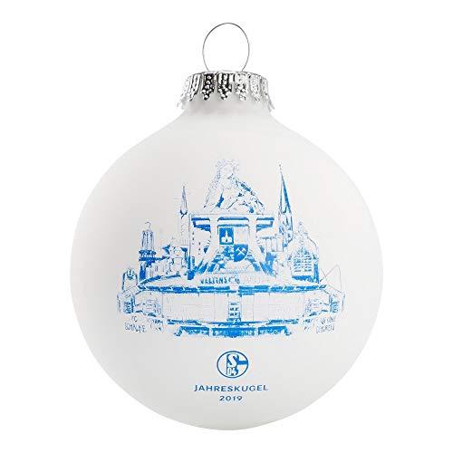 FC Schalke 04 Fanartikel Weihnachts Kugel Sammlerkugel Jahreskugel 2019