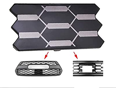 SETLUX Front Grille Garnish Radar Sensor Cover Replacement for Tacoma TRD PRO 2018 2019 2020 TSS Sensor Cover Replaces Part # 53141-35060