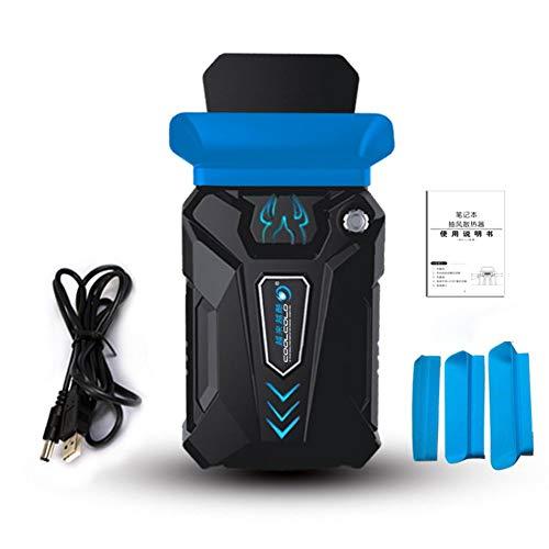 Enfriador de bajo Consumo de Aire Mini Ventilador de refrigeración Extractor de Aire Radiador Inteligente Control de Temperatura Refrigerador de la computadora portátil Enfriador de la CPU