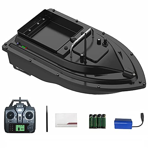 Remote Control RC Fishing Bait Boat for Carp, 2KG Load Fish Finder with GPS, 2 Motors Auto Cruise Control,Auto Return