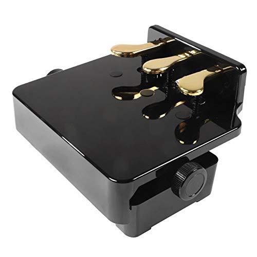 Banco de extensores de pedal de piano, altura ajustable