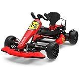 CROMAD GO Kart Racing para Hoverboard (Seguridad y Comodidad, Freno de Disco, Asiento Ajustable) -...