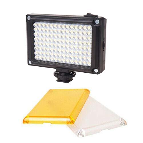 112 Illuminazione a LED per videotelefono LED per streaming live di Youtube (nero)