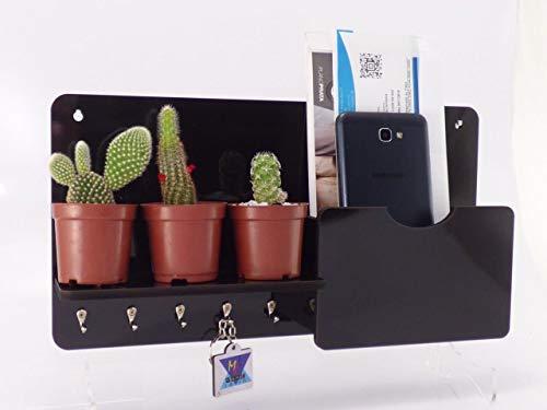 Porta Chaves Carta e Organizador Decorativo