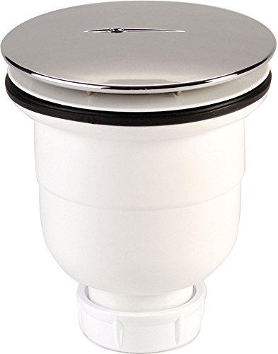 Nicoll - 92884 Válvula de desagüe de ducha - Sort Vert 790 0205110, color blanco