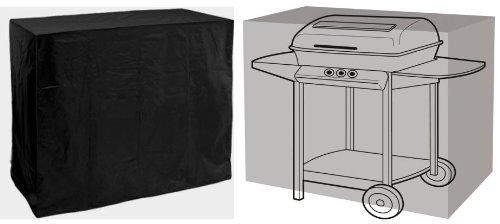 HBCOLLECTION Housse Noire pour Barbecue Super Grill 155cm Gamme Confort
