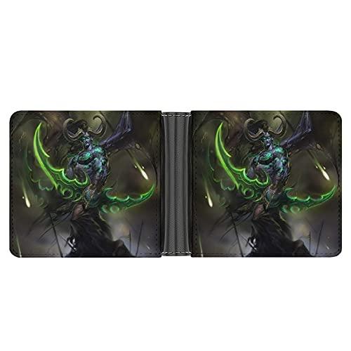 Las carteras de World Warcraft para hombre son exquisitas y de gama alta, multifuncionales, regalos elegantes para novios y padres