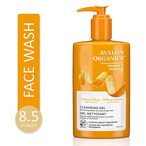 Avalon Organics, Refrescante Gel Limpiador Vitamina